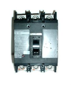 Square D QBL32125 PowerPact Q, QB 125 Circuit Breaker, 125A/240VAC/3-Pole
