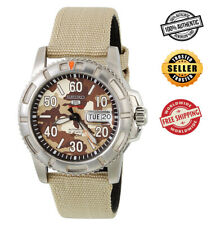 Seiko 5 Sports Automatic SRP221 SRP221K2 Men Camouflage Dial 100m Watch