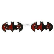 Suicide Squad DC Comics Batman Joker Harley Quinn Logo Post Stud Earrings NEw