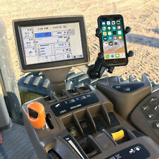 Phone holder for a John Deere Combine, Sprayer or Tractor Easy to install Solid