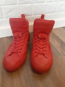 Converse Chuck Taylor All Star Hi Guard Sneaker - Red Monochrome Shoes Size 12