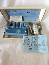 Vtg Ladies Sears Shave Deluxe Beauty Ctrr Mani/Pedi set for Parts Repair or Prop