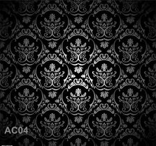 Retro Damask Vinyl Photography Backdrop Background Studio Props 10x10ft AC04