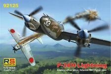 RS MODELS 92125 1/72 Lockheed P-38H Lightning