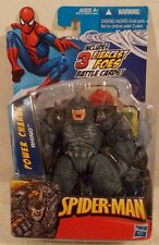 "Marvel Universe 3.75"" Spider-Man Power Charge Rhino Hasbro (Mint On Card)"