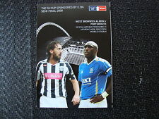 West Bromwich Albion Home Teams S-Z Football FA Cup Fixtures