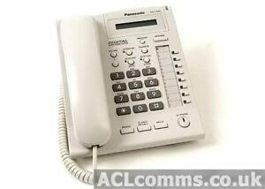 Brand New Panasonic KX-T7665 8 Key Phone in White