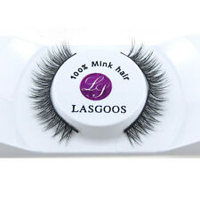 1 Pair 100% Siberian Mink Fur Daily Eye Lashes Classic Reusable False Eyelashes