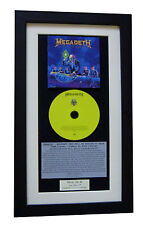 MEGADETH Rust In Peace CLASSIC CD Album TOP QUALITY FRAMED+EXPRESS GLOBAL SHIP