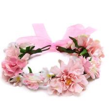 Boho Floral fiesta de la boda coronas de flores del pelo guirnaldas diadema