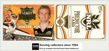 2006 Select NRL Invincible League Leaders CC15 Brett Hodgson + Tigers Predictor