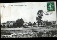 AUZANCES (23) VILLAS du QUARTIER de la GARE en 1912