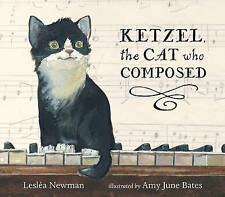 NEW Ketzel, the Cat Who Composed by Leslea Newman