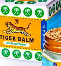 3 x Original  White  Tiger Balm  21ml  -SPECIAL PRICE - UK SELLER- FREE DELIVERY