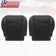 2012 Dodge Ram 5500 4500 Driver Passenger Bottom Perforated Leather Cover BLACK