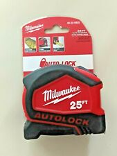 Milwaukee 25 ft autolock Tape Measure 48-22-6825