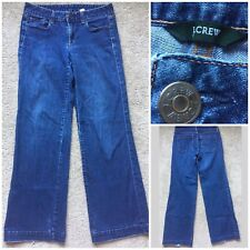 "J. CREW Dark Wash Relaxed Fit Jeans Women's Size 4 (30"" Waist)"