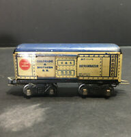 UP Colorado & Southern Refrigerator Car 817 555 (Marx O Scale Train Car)