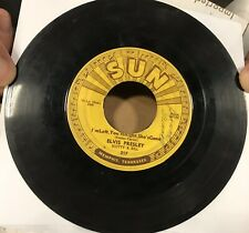 Elvis - Baby Let's Play House / I'm Left You're Right Sun Records 45