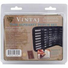 "Alphabet Punch Set W/Case 27/Pkg-3mm (.125"") Uppercase Letters -V-LPS002"