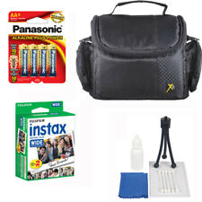 Starter Kit for Fuji instax Wide 300 Camera 20 Prints Film + Case + Accessories