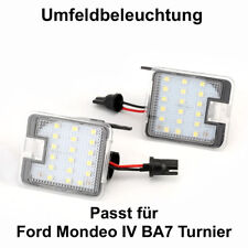 2x TOP LED SMD Umfeldbeleuchtung 6000K Weiß  Ford Mondeo IV BA7 Turnier (7908)