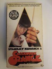 Clockwork Orange 1971 Movie Vhs 1991