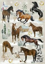 Horse / Pony Lover Christmas Gift Wrapping Paper by Starprint