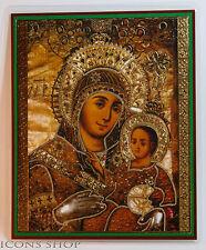 Russian Icon of the Nativity, Bethlehem  Вифлеемская Божья Матерь Икона