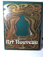 Art Nouveau Taschen 1st Edition Klaus-Jürgen Sembach Mucha Vintage Art Book