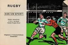 Boekje: Ken uw Sport - Rugby