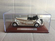 "DIE CAST "" MERCEDES-BENZ SS "" SILVER CARS COLLECTION ATLAS SCALA 1/43"