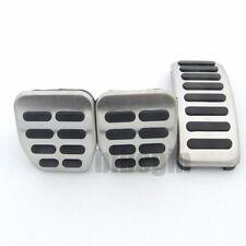 Stainless Steel MT Pedal Pads For VW Polo Jetta MK4 Bora Golf MK4 Set Lavida Kit