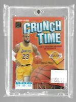 Lebron James 2019/20 Donruss Crunch Time Press Proof--Lakers