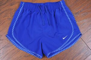 Nike Dri-Fit Tempo Lined Shorts Blue Women's Small S