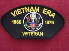 "Patch  ""VIETNAM ERA VETERAN - 1960 -1975"" cap embroidered patch,  # FLB1819"