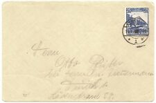 Germany #461 1935 25pf Centenary of railroad on 1935 cover