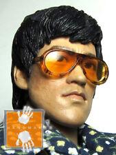 Hot Custom 1/6 Toys Bruce Lee Style Sunglasses Glasses (Last one)
