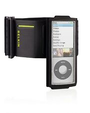 BELKIN Black Sport Armband Gym Case for iPod Nano 5th Gen w/ Fastfit F8Z516 NEW