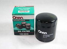 Onan Genuine RV Generator Oil Filter 122-0645 Fits  NHEL / BGM / BGE/ BFA / BF