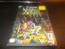 The Legend of Zelda: Four Swords Adventures (Nintendo GameCube, 2004) With Case