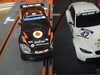 2 slot cars WOS SCALEXTRIC  WOS     1/32  new