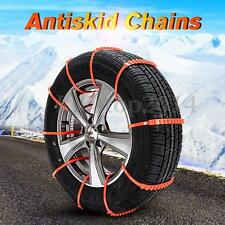 10X Anti-skid Chains For Car Truck Snow Mud Wheel Tyre Tire Cable Ties Nylon