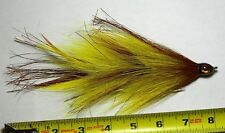 Articulated Miller Muskie  Brown/Yellow - Double 5/0 Hooks
