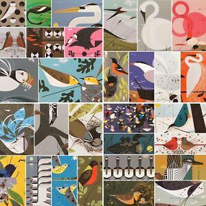 Charley Harper Bird Postcards - Choose Postcard Design From List