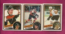 1984-85 OPC FLYERS POULIN RC + GUAY RC + ERIKSSON RC CARD (INV# A6011)