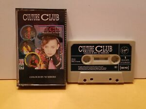 1983 Culture Club Colour By Numbers Cassette Tape Full Album