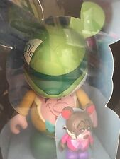 "Disney Vinylmation Park 5 Alice in Wonderland 9"" Mad Hatter and 3"" Dormouse NIB"