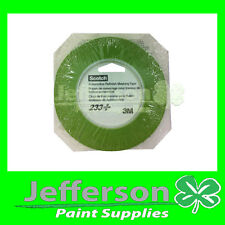 3M-233 6mm GREEN REFINISHING MASKING FINE LINE TAPE FOR CAR DETAILING / DECAL