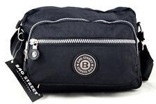 Messenger Bag Handtasche Umhängetasche Bag Street Nylon 2223 Schwarz leicht